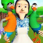 Дитяча пісенька – Жили у бабусі два веселих гусі